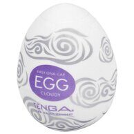 Мастурбатор-яйцо из силикона Tenga Egg Cloudy